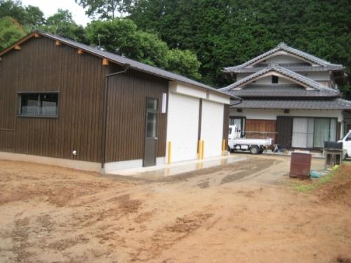K様邸倉庫新築工事